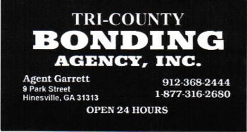 Jail & Bonding Information - Long County GA Sheriff's Office